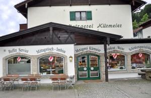 Metzgerei Kürmeier in der Dapferstraße 5 in Brannenburg
