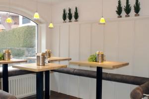 Genießen Sie unsere Mittagsmenüs im neu gestalteten Imbissbereich